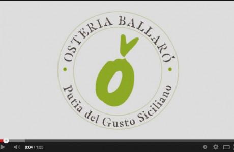 Il 29 dicembre 2013 inaugurammo l'Osteria Ballarò: ristorante, enoteca, street food. Valorizziamo la Sicilia!