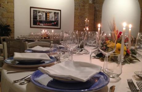 Addobbata per ospitare i tuoi eventi, potrai scegliere con noi un menù esclusivo ed ogni dettaglio per un indimenticabile banchetto.